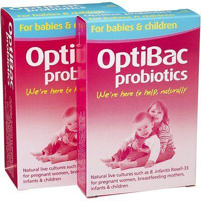OptiBac Probiotics For babies & children 10 sachets