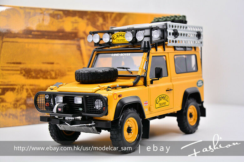 Almost Real 1 18 Land Rover Defender 90 Camel cup
