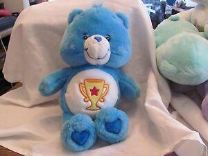 Care Bears Champ Bear plush 2000s