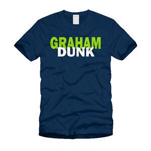 Image is loading Graham-Dunk-Jimmy-Graham-Seattle-Seahawks-NFL-T- e7437d7b5