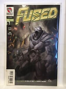 Fused-1-Eric-Powell-Cover-VF-1st-Print-Rocket-Comics-Eric-powell-cover