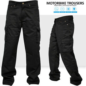 Motorbike-Motorcycle-Cargo-Trousers-Jeans-Pants-With-Aramid-Protective-Lining