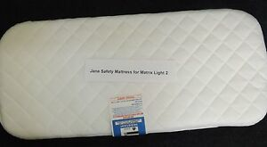 New Safety Mattress For Jane Matrix 2 Carrycot 702403261490 Ebay
