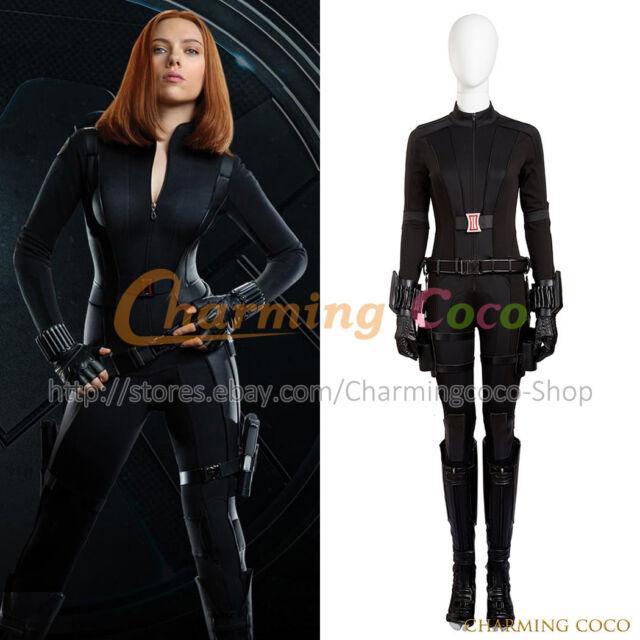 Civil War Black Widow Cosplay Costume