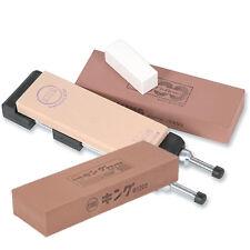 Ice Bear King Japanese Waterstone Sharpening Kit Set + 1200 Ice Bear Stone