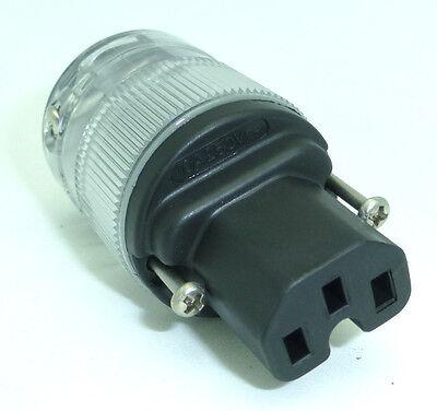 Wattgate 320i IEC Clear Power cord connector