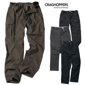Craghoppers-Classic-Mens-Reinfored-Cargo-Combat-Kiwi-Trousers-Outdoor-Zip-Pocket