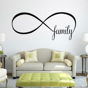 Image Is Loading 22 50cm Bedroom Pvc Wall Stickers Infinity Symbol