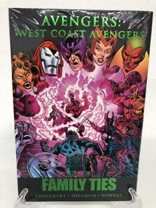 West-Coast-Avengers-Family-Ties-Marvel-Comics-HC-Hard-Cover-Brand-New-Sealed