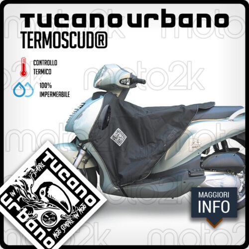TERMOSCUD COPRIGAMBE TUCANO NERO R161N PER HONDA PS 125