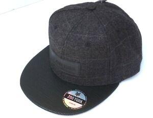 f89e225e8 ZOO YORK Snapback Hat Cap Baseball One Size Skater Hat Flat Bill New ...