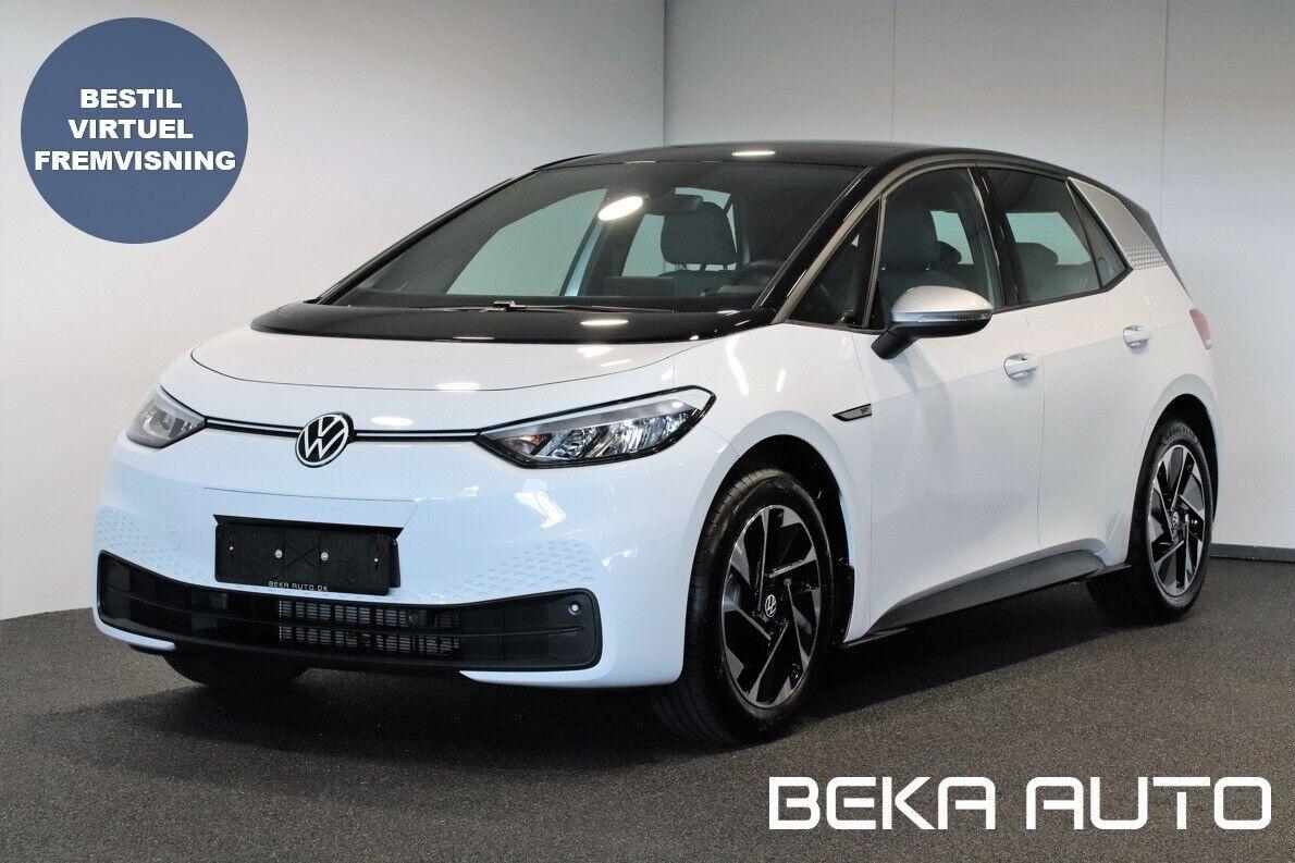 VW ID.3  1ST 5d - 279.800 kr.