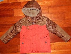 Superbe-manteau-doudoune-blouson-hiver-garcon-CATIMINI-grand-3-ans-Parfait-etat