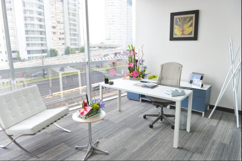Oficina En Renta En Centro De Negocios En Punta Santa Fe Para 70 Personas (m2o10