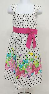 c9f5742615c Bonnie Jean Polka Dot Floral Sundress Dress Little Kids Girls Sz 6 ...