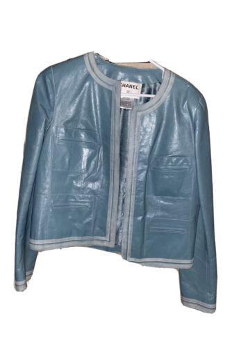 Authentic Chanel Calfskin Jacket