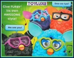Furby-FRAMES-2-Pk-GLASSES-amp-STICKERS-Accessories-for-Interactive-Electronic-Toy