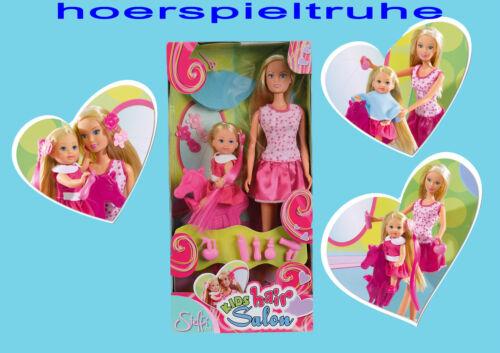 Kinderfriseur Steffi Love Pferdestuhl,Zubehör Evi beim Friseur Ankleidepuppe