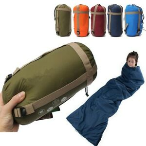 Envelope-Sleeping-Bag-Camping-Travel-Hiking-Ultra-light-Waterproof-Fleabag