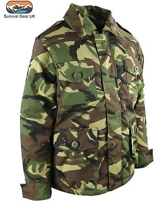 Kids Childrens Padded Jacket Coat BTP Camo Ripstop Fancy Dress Boys or Girls