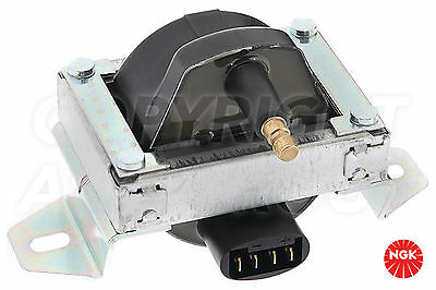 New NGK Ignition Coil For PEUGEOT 405 1.6 Carburettor  1988-92