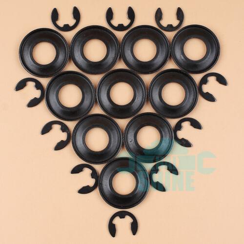 10Set Clutch Washer E-Clip for HUSQVARNA 362 365 371 372 385 390 570 575 576 XP