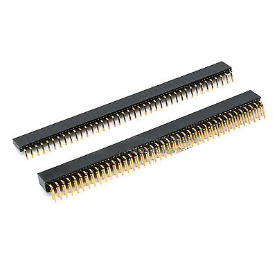 2.54MM 1*40P 2*40P Single//Double Row Right Angle Male Pin Header Strip Connector