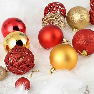 24pcs-100pcs-Christmas-Xmas-Tree-Ball-Bauble-Home-Party-Ornament-Hanging-Decor