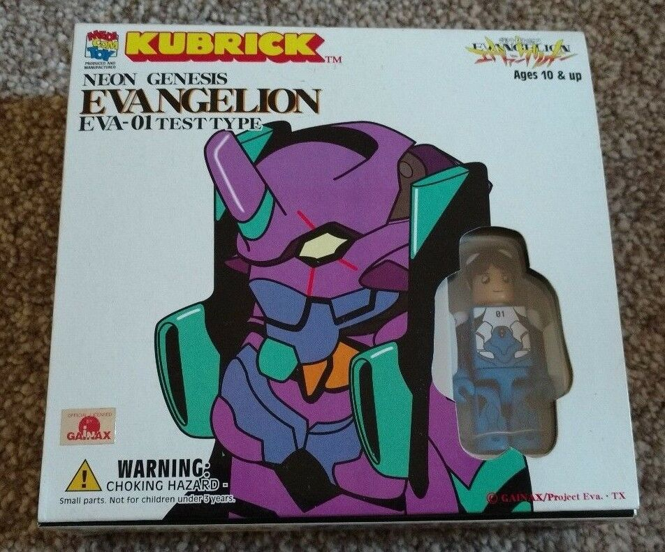 Neon Genesis Evangelion - Medicom Kubrick - Brand New, Rare