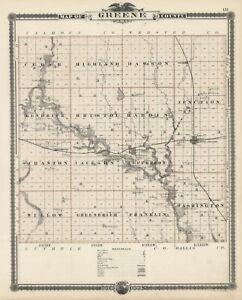 1875 State of Iowa: GREENE County