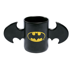 Batman Coffee Mug Cup Batwing Bat wing Ceramic Fathers Day Gift DC Comics