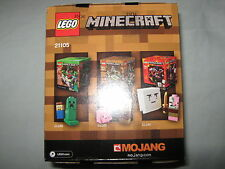 Lego Minecraft World Micro Village 21105 new sealed retired