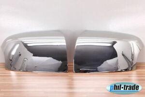1 set acero inoxidable tapas de espejo cromo para Ford Focus II Mondeo III C max intermitentes