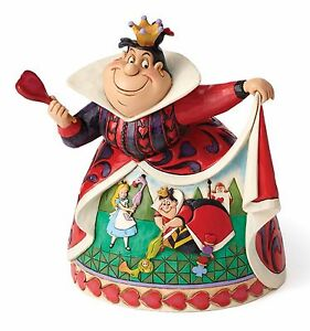 Disney Traditions Reine De Coeur 65 Ème Anniversaire Figurine Décorative 18cm