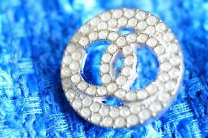 100-Chanel-button-1-pieces-cc-logo-21-mm-0-8-inch-White-emblem
