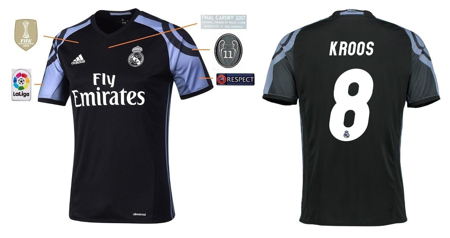 Trikot Real Madrid Third Champions League Final Cardiff 2017 - Kroos 8