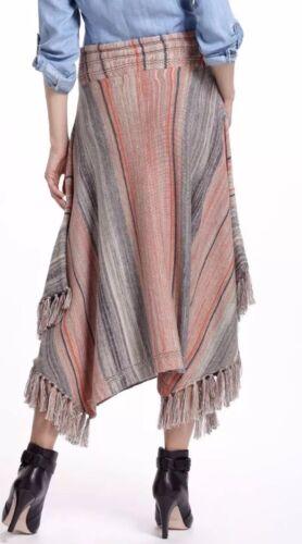 Sparrow Door Anthropologie Stripes' M Nwt 'geconvergeerde Sz Sweaterrok YE9IWDH2