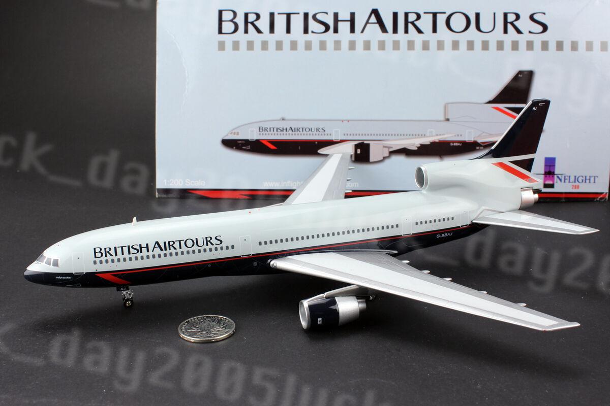 Inflight200 British Airtours Holyhead Bay Lockheed L-1011 Tristar G-BBAJ 1 200