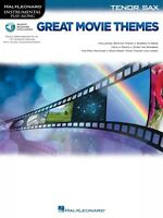 Great Movie Themes For Tenor Sax Instrumental Play-along Instrumental 000139146