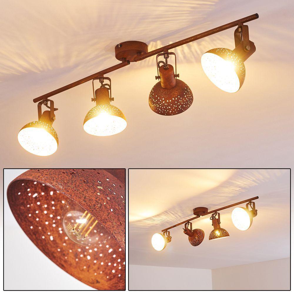 Plafonnier Lampe à suspension Lustre Lampe de corridor 4 branches Lampe de salon