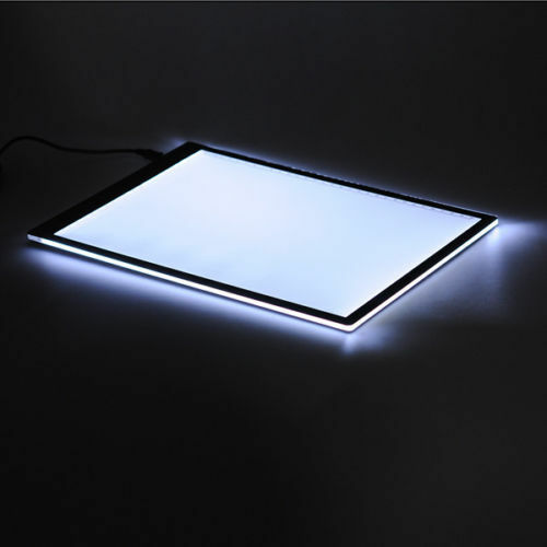 A3 LED Light Tracing Box Design Tattoo Stencil Artist Drawing Lightbox Pad Board