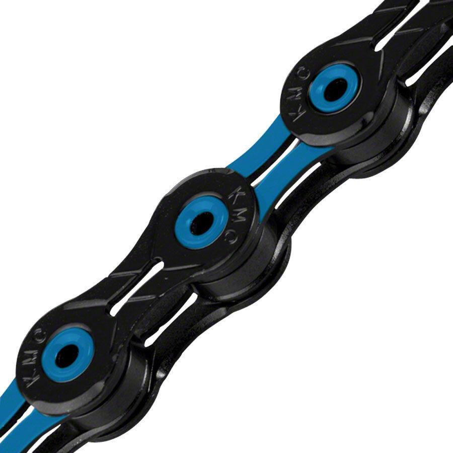 Cadena de Luz KMC X11SL súper - 11-velocidad 116 enlaces Negro Azul
