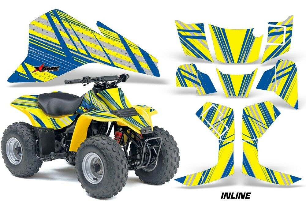 Atv Grafik Kit Kit Kit Quad Sticker für Suzuki Lt80 1987-2006 Inline U Y 89fbef