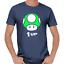 Mushroom-Pilz-1-UP-Gamer-Nerd-Geek-Geschenk-Sprueche-Lustig-Spass-Comedy-T-Shirt Indexbild 3