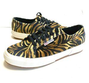 Superga 2750 Tiger Print Sneaker Size 9