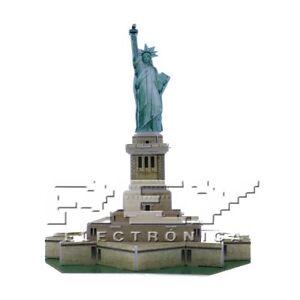 Puzzle-3D-Estatua-de-la-Libertad-Juego-Educativo-Divertido-Desde-ESPANA-j55