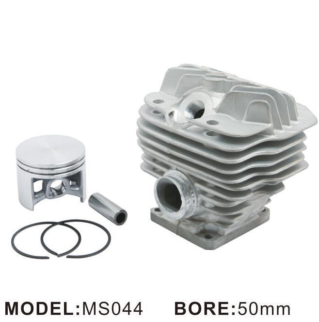 Nikasil 50 Mm Cilindro Pistón conjunto para stihl044 Ms044 Motosierra 12 mm Pin