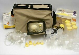 Image Is Loading Medela Advanced Personal Double Electric T Pump Tan