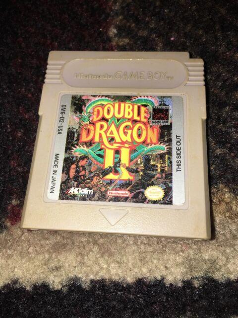 Double Dragon Ii Nintendo Game Boy For Sale Online Ebay