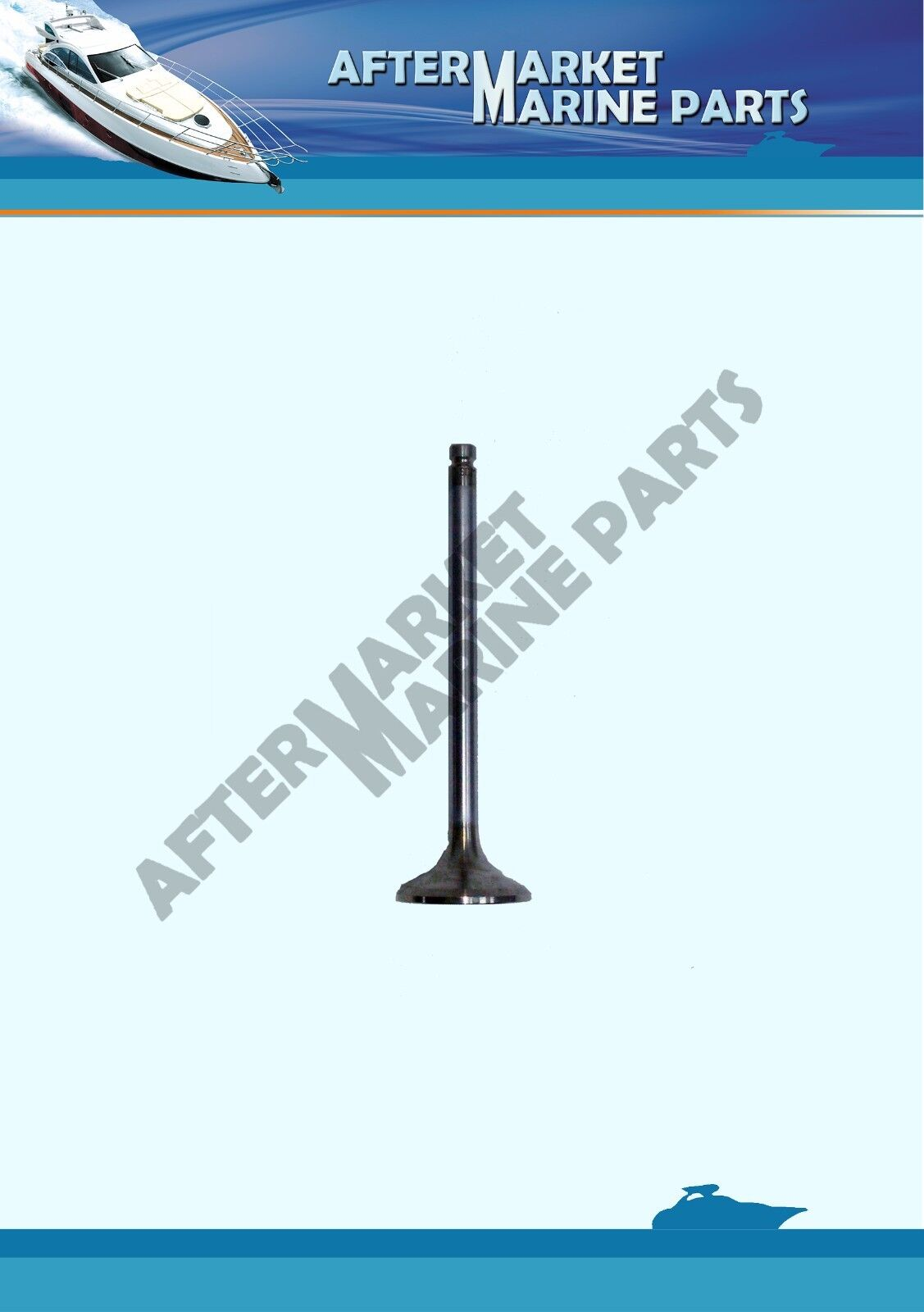 Volvo Penta Exhaust Valve Inboard Diesel Engine Replaces 838638 For AD TAMD KAD